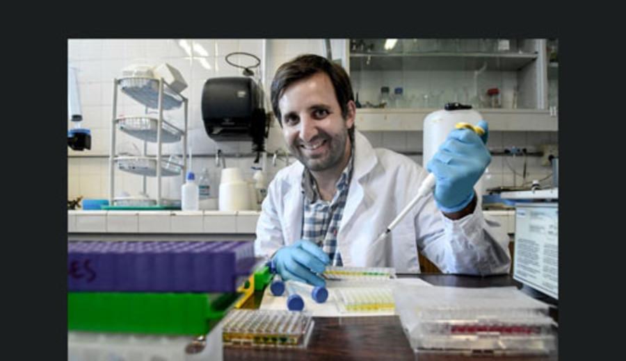 imagen de Juan Pablo Tosar, de Facultad de Ciencias, destacado en la revista Nature