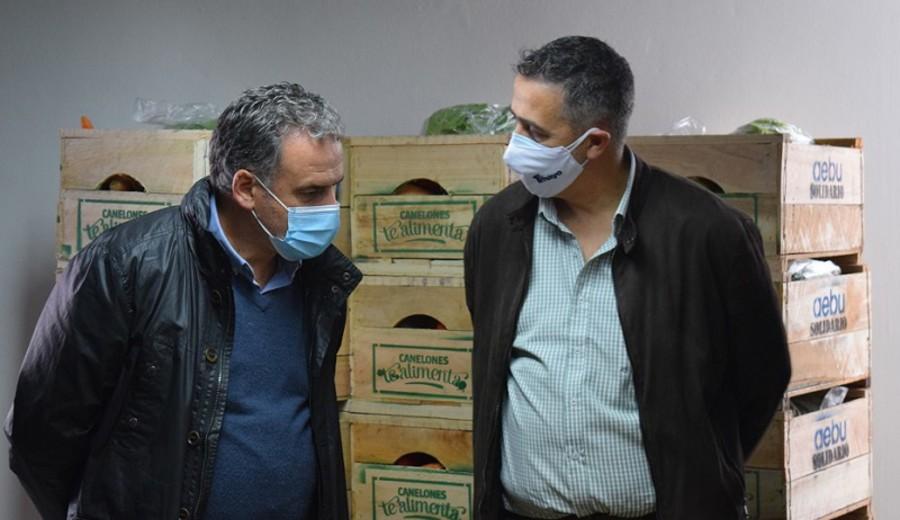 imagen de Iniciativa de Intendencia de Canelones y AEBU hace posible que 20 kg de alimentos lleguen a quien más lo necesita