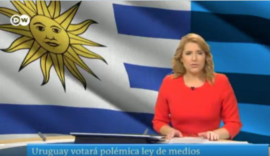 """imagen de Deutsche Welle sobre Ley de Medios en Uruguay: La libertad de prensa """"está amenazada"""""""