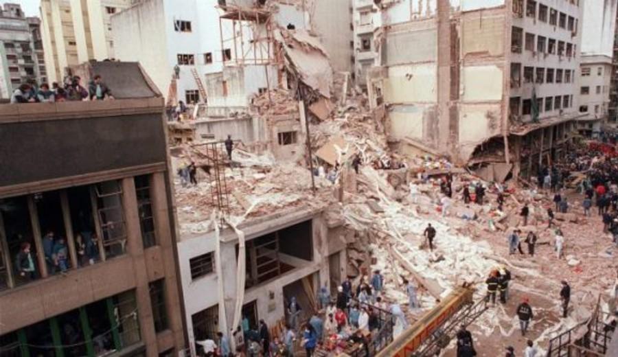 imagen de Acto por 27° aniversario del atentado a la AMIA, con participación del presidente de Diputados Alfredo Fratti