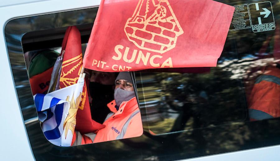 """imagen de Sunca: Paro nacional parcial y caravanas por """"trabajo y más inversión pública"""""""
