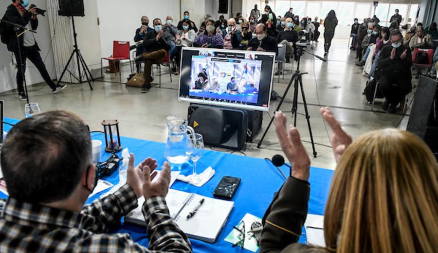 imagen de Ricardo Ehrlich asumió como coordinador interino del Frente Amplio