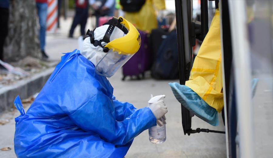 imagen de Coronavirus: 226 casos nuevos, cinco fallecidos y 77 personas en cuidados críticos
