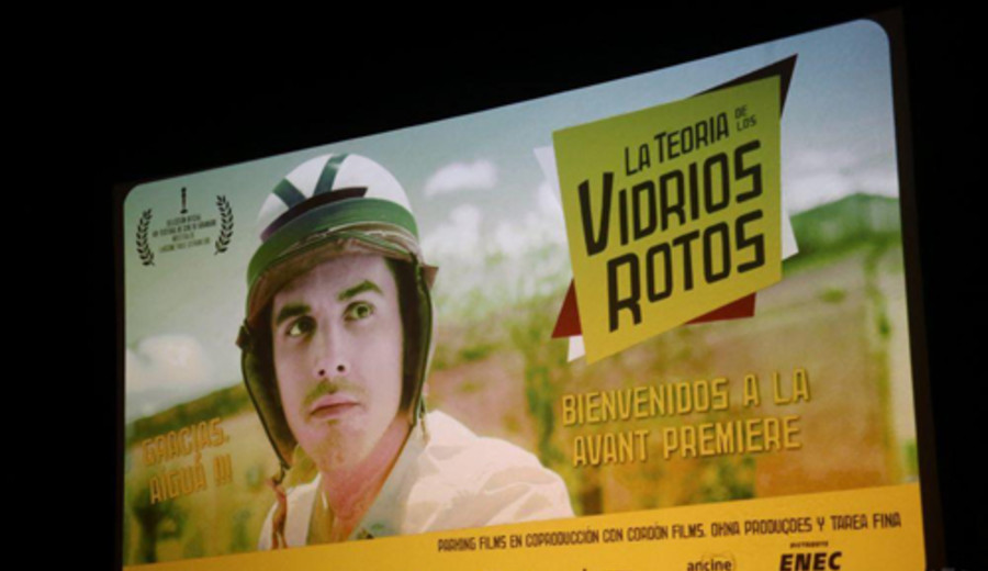 """imagen de """"La teoría de los vidrios rotos"""" fue premiada en el Festival de Gramado"""