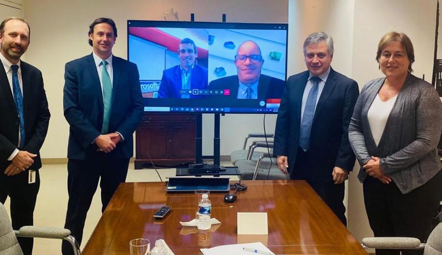imagen de Uruguay y Microsoft acuerdan desarrollar soluciones de inteligencia artificial