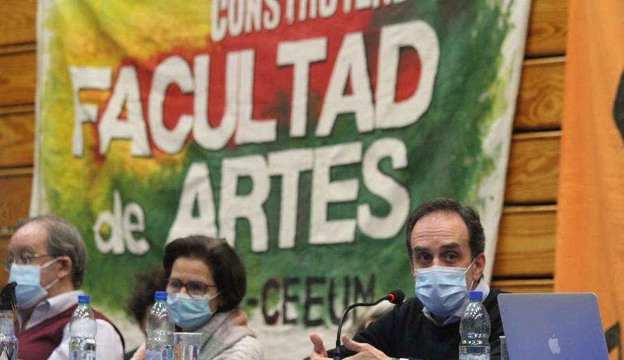 imagen de Udelar: CDC votó la creación de la Facultad de Artes