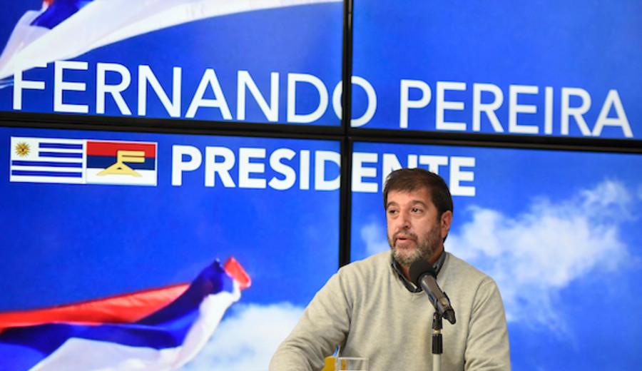 """imagen de Pereira lanzó su candidatura para """"construir un Frente Amplio más frente y más amplio"""""""