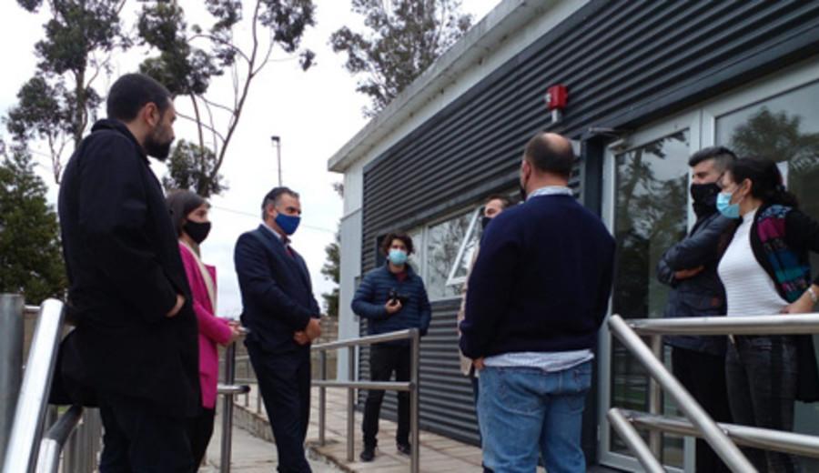 imagen de Orsi visitó planta de producción de cannabis medicinal