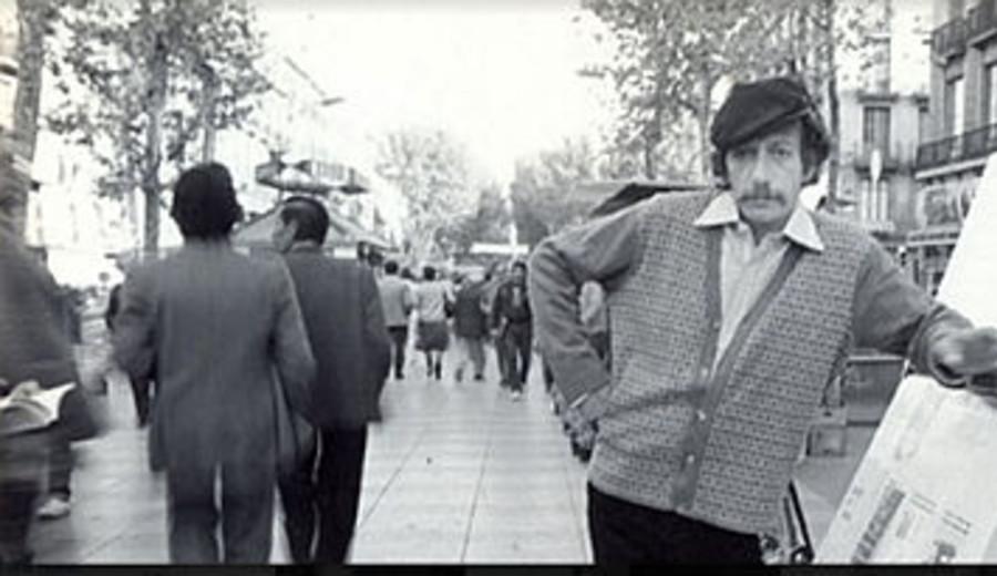 imagen de Eduardo Mazo, el poeta de la Rambla