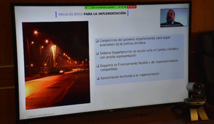 imagen de Plan de mitigación y adaptación al cambio climático entre Canelones y Tenerife