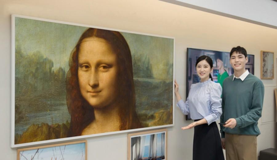 imagen de Samsung se asocia al Louvre para la suscripción de arte en la televisión