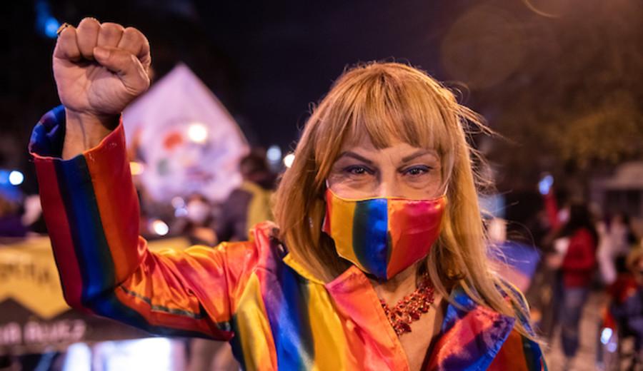 """imagen de Marcha por la diversidad: """"Ocupando el mundo, porque es nuestro"""""""