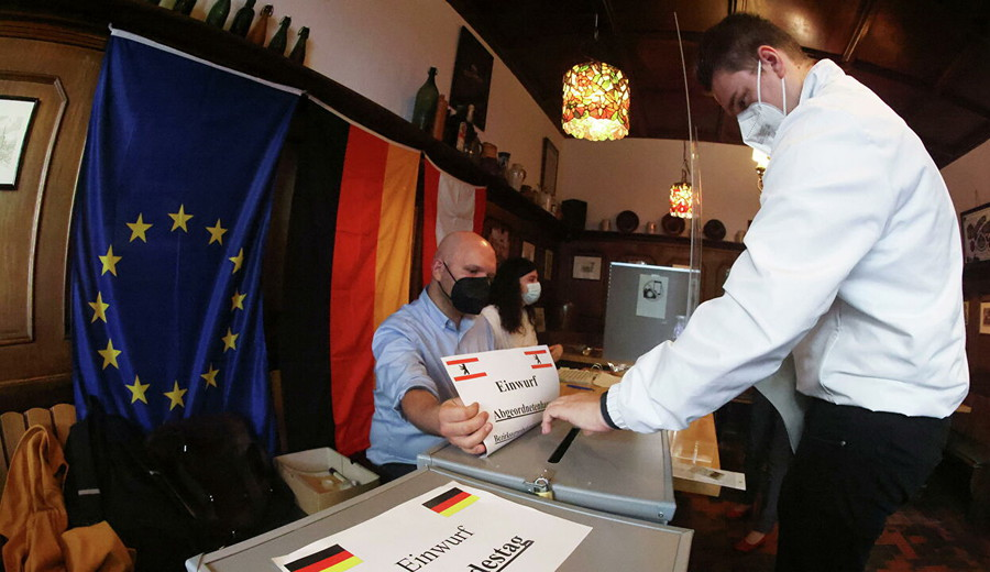 imagen de Alemania: Según sondeos, pelean voto a voto conservadores y socialdemócratas, que alcanzarían el 25% de apoyo cada uno