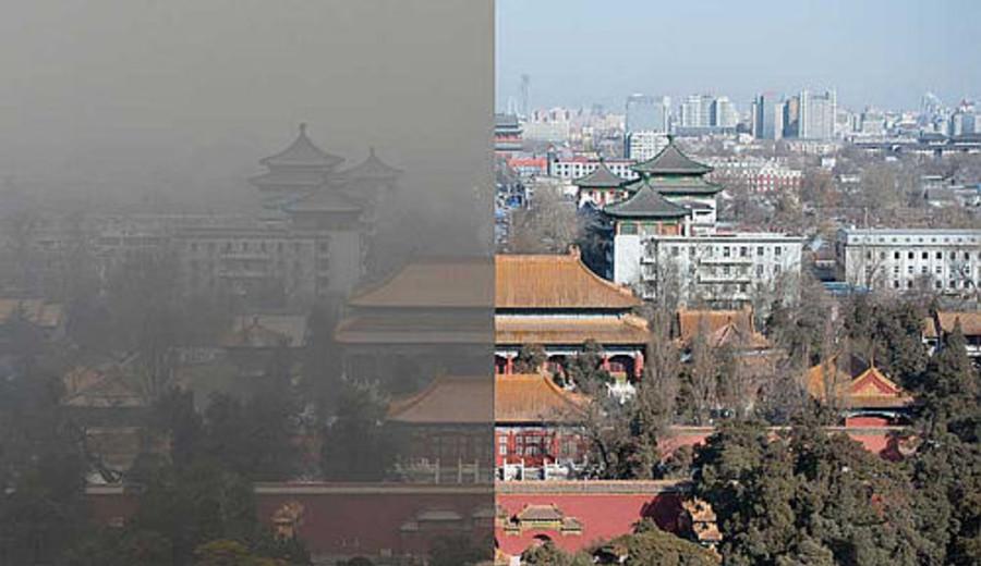 imagen de Beijing tiene mejor calidad de aire en período enero-agosto