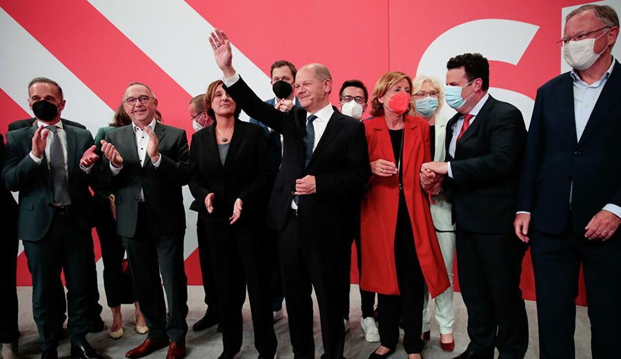 imagen de Alemania: Los socialdemócratas adelantan al partido de Merkel en las parlamentarias por una diferencia mínima