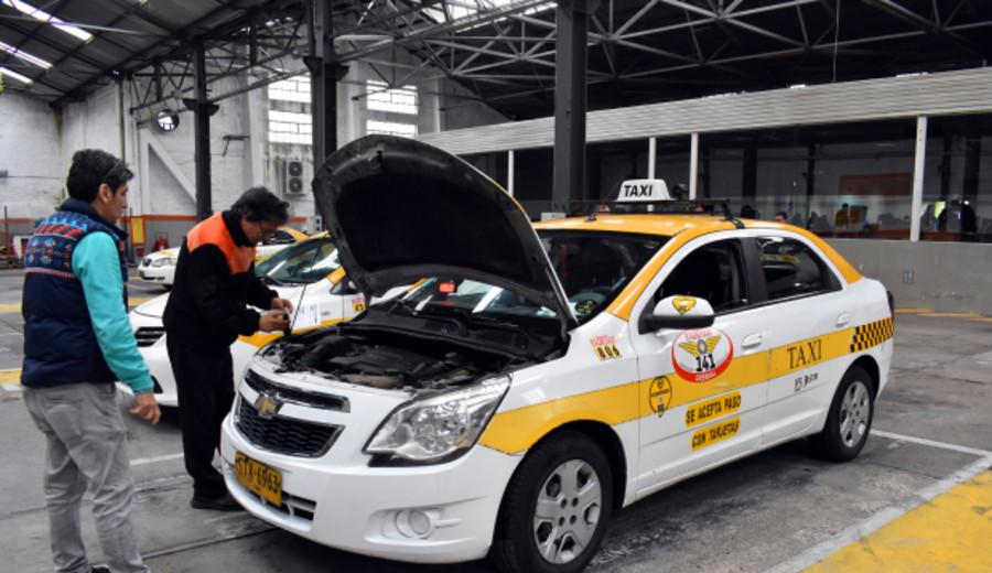 imagen de Comienza hoy inspección anual de taxis