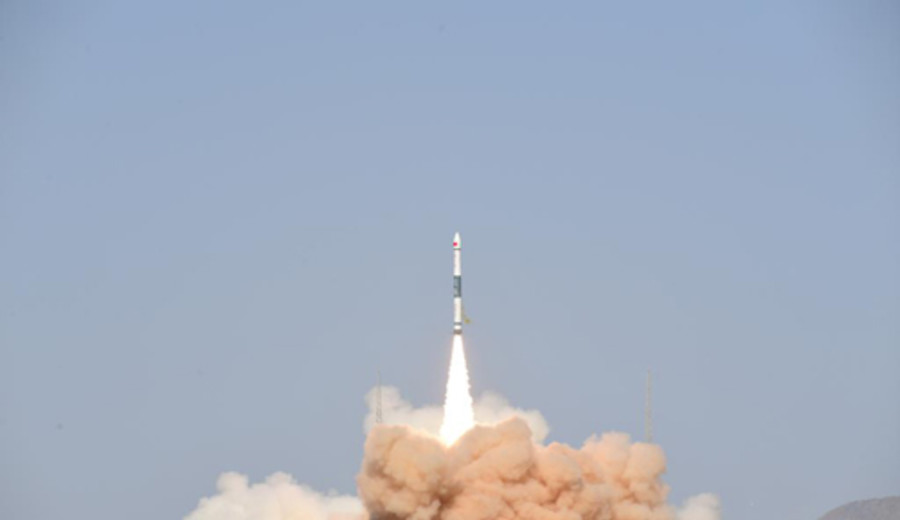 imagen de China lanzó nuevo satélite