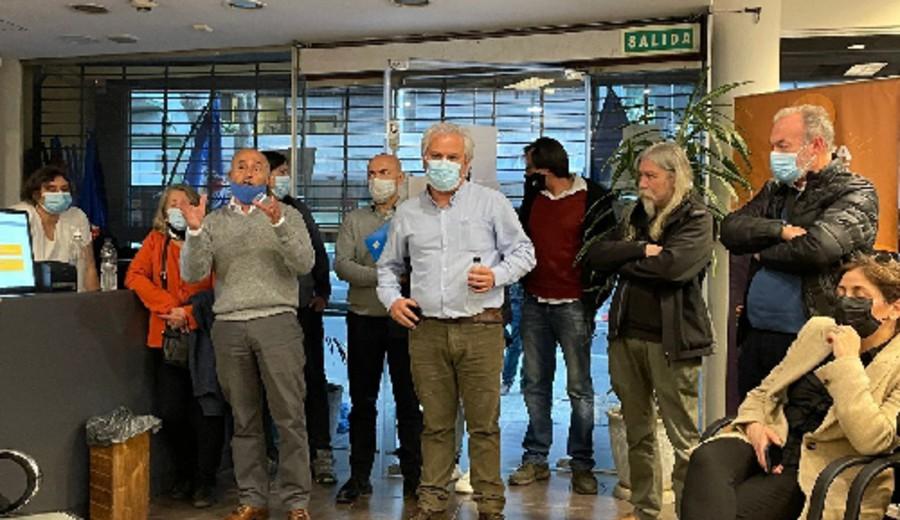 imagen de Ocupación por despidos antisindicales en Fucerep
