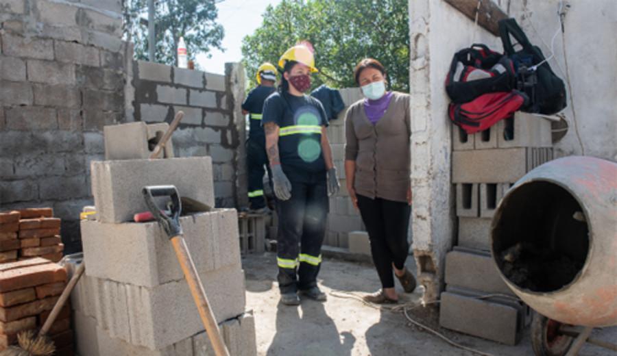 imagen de Soluciones edilicias a viviendas y merenderos