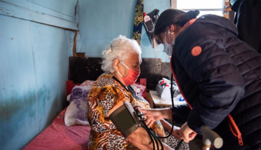 imagen de La policlínica móvil de la Intendencia recorre barrios